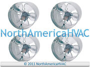4x 6 Round In-line Air Duct Booster Fan 115 Volt T9-mcm6 T9-db6 Db6 250 Cfm Usa