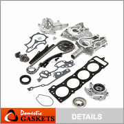 85-95 Toyota 2.4l Heavy Duty Timing Chain W Cover Water Oil Pump Head Gasket 22r