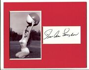 Sue Ane Langdon A Guide For The Married Man Arnie Signed Autograph Photo Display