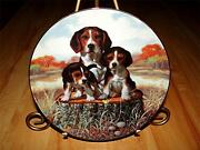 Beagle Dog Puppy, The Lookout A Sporting Generation, Jim Lamb Hamilton Plate