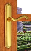 Fpl Chateau Full Dummy Door Lever Handle Set