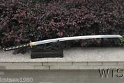 47 Hand Forged Two Handed Japanese Sword Kinand039iro Nodachi Spring Steel Sword
