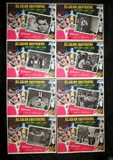 Houdini Tony Curtis Janet Leigh George Pal Unused Mexican Lobby Card Set 1953