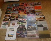 32 Lionel And Rail Kings Classic Trains Railroading Magazines Catalog Lot Free S/h