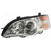 Headlight For 2006-2007 Subaru Outback Legacy Left With Bulb