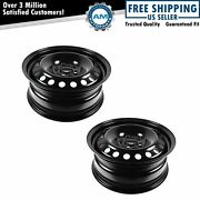 16 Inch Steel Replacement Wheel Rim New Pair For 12-13 Ford Focus Fusion