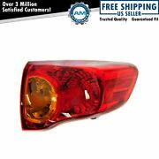 Right Tail Light Taillamp Passenger Side For 2009-2010 Toyota Corolla