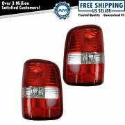 Tail Lights Taillamps Left And Right Pair Set For 2004-2008 F-150 Styleside