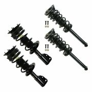 Front And Rear Shock Strut And Spring Kit Set Of 4 For 95-99 Cavalier Sunfire