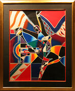 Neal Doty An Expression Of Jazz Hand Signed Art Serigraph Le Submit Best Offer