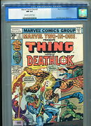 Marvel Two-in-one 27 Cgc 9.4 1977 Thing And Deathlok Fantastic Four Nick Fury