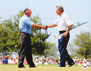 Nick Price Mark Oand039meara Dual Signed 11x14 Photo Pga Masters Psa/dna Autographed