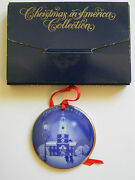 Bing And Grondahl 1991 Christmas In America Collection- Independence Hall - W Box
