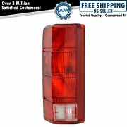 Taillight Lens Lh Left Driver For 80-86 Bronco F100 F150 F250 F350 Pickup Truck