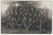 Pc Wwi Germany Army Scouts Division Soldiers Photo Rifles