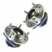 Timken Wheel Hub And Bearing Front Pair Set For Chevy Olds Pontiac W/ Abs Sensor