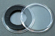 250 Airtite 16mm Black Ring Coin Holder Capsules For 5 1/10 Oz Gold Eagle