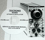 Tektronix Sg505 Opt 02 Instruction Serv. And Ops Manual