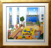 Thomas Mcknight Riverside Drive With Custom Frame Hand Signed Make An Offer