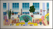 Thomas Mcknight Pacific Heights Hand Signed Serigraph On Paper Make An Offer