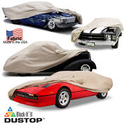 Covercraft Dustop Cover In Taupe For All Porsche Models And Years Indoor