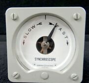 General Electric Ge Synchroscope Type Ab14 Category 50101454acaa2jat
