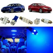 14x Blue Led Lights Interior Package For 2006-2013 Lexus Is250 Is350 Isf Li1b