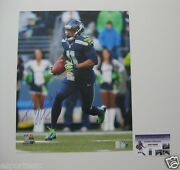 Percy Harvin Signed/auto'd Seattle Seahawks Official Nfl 16x20 Photo W/pic--gtsm