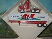 Winross 1/64 Toronto Ontario Bn America Tractor And Trailer