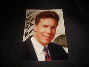 Mike Moore Mississippi Attorney General Signed 5x7 Photo Authentic Autograph Jb9