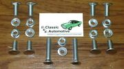 Camaro 68 Bumper Bolts 20pc Kit W/ Nuts Front Rear In Stock Stainless Cap Bolt