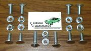 Camaro 69 Bumper Bolts 20pc Kit W/ Nuts Does Front + Rear Stainless Cap Bolt