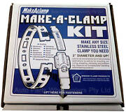 Breeze Make A Hose Clamp Kit 100 Foot All 304 Stainless Steel Made In The Usa