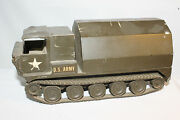 1950's Architectural Model Associates Us Army Troop Carrier On Treads Model