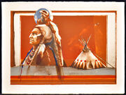 Larry Fodor Gray Thunder Eagle Color Hand Signed And Numbered Make An Offer L@@k