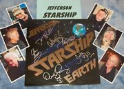 Jefferson Starship Autographed Album And Photos- Collectible