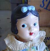 Rare Vintage Composition Snow White Girl Doll 13 Look