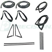 New Weatherstrip Seal Kit / For 1971-72 Gmc Chevy Chevrolet Pickup Truck