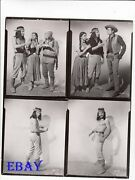 Keith Larsen Barechested Vintage Photo Apache Warrior 4 Images On One 8 X 10 Pho