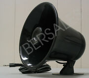 Black Abs Weather Proof Pa Speaker Horn Cb Radio Outdoor Marine Game Call 15w