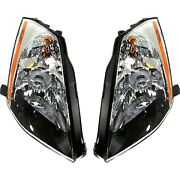 Hid Xenon Headlights Headlamps Left And Right Lamp Pair Set For 03-05 Nissan 350z