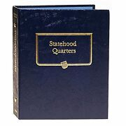 Whitman Coin Album 2644 9176 Statehood, Territory And Dc Quarter Date Set Book