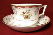 Wedgwood Bianca Williamsburg Script Mark England Cup And Saucer