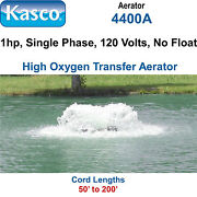 Kasco 4400a200 Aerator 1 Hp 120 Volts 200and039 Cord No Float