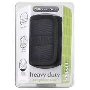 Wireless Gear 4hl963 Heavy Duty Cell Phone Case For Small Phone Black New