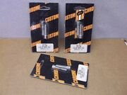 3 Sets Of Chrome Headlight Visor Mounting Bolts For Superglides And Sportsters