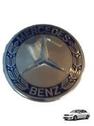 Set Of 4 Mercedes Amg Oe Blue Badge Wheel Center Caps For All C Class Years
