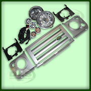 Land Rover Defender - Svx Style Grille And Light Conversion Lhd`07 On Dls406