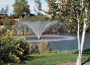Kasco Marine 4400hvfx 100 Floating Aerating Fountain 1hp 240 Volts 100and039 Cord Wps