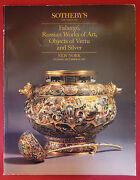 Imperial Russian Icons Faberge Gold Silver Enamel Sothebys Catalog December 1987